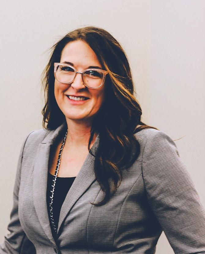 Kally Braaten, President of the Denturist Society of Saskatchewan